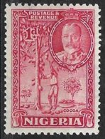Nigeria (1936) - Récolte Du Cacao, Cacaoyer / Cocoa Harvest, Cacao. Chocolat / Chocolate. N° 38. - Alimentation