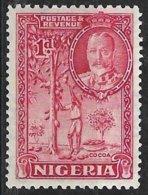 Nigeria (1936) - Récolte Du Cacao, Cacaoyer / Cocoa Harvest, Cacao. Chocolat / Chocolate. N° 38. - Alimentación