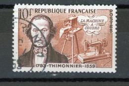 FRANCE - THIMONNIER - N° Yvert 1013 Obli. Ronde De ? TRI N°1 1955 - France