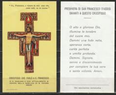 Santino - Crocefisso Che Parlò A S. Francesco - Assisi - Santini