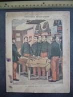 """Ancien Protège-cahier Couverture """"EPISODES MILITAIRES - La THEORIE DANS LES CHAMBRES"""" (CAHIER COMPLET) - Protège-cahiers"""