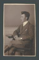 Photo Ancienne Un Très Beau Jeune Homme Young Man Gentleman Dandy Chic à La Tenue Outfit  Impeccable GAY INTEREST - Anonymous Persons