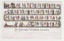 BB237 - SUISSE - DER TOTENTANZ - La Danse Macabre - Illustration - Numéro 489 - Nach H.Hohlbein - Other
