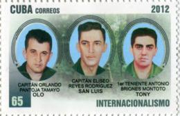 Lote CU2012-30, Cuba, 2012, Sello, Stamp, Internacionalismo, Internationalism, Eliseo Reyes, San Luis - Cuba