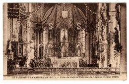 LE-PLESSIS-GRAMMOIRE - Fête De Sainte-Thérèse-de-Lisieux, Le 5 Mai 1929 - Frankrijk