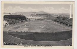 Firenze, Lo Stadio Comunale Giovanni Berta  - F.p. - Anni '1930 - Firenze (Florence)