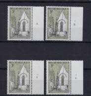 N°1487 (pltn°set) MNH ** POSTFRIS ZONDER SCHARNIER SUPERBE - Plattennummern