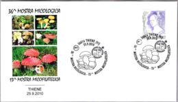 36 EXP.MICOLOGICA - 36th Mycological Exhibition. Setas - Mushrooms. Thiene, Vicenza, 2010 - Hongos