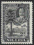 Nigeria (1936) - Industrie Du Bois / Timber Industry. Abattage D'un Arbre à La Hache / Felling A Tree With Axes. N° 40. - Árboles