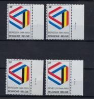 N°1500 (pltn°set) MNH ** POSTFRIS ZONDER SCHARNIER SUPERBE - Plate Numbers