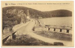 La Gileppe Le Barrage Et Le Lac Unused - Ed Schyns NELS - Barrage à Gauche - Gileppe (Dam)