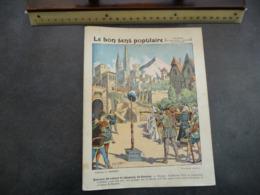 """Ancien Protège-cahier Couverture """"Le Bon Sens Populaire - REFUSER DE SALUER LE CHAPEAU DE GESSLER - Guillaume Tell"""" - Protège-cahiers"""