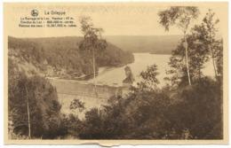 La Gileppe Le Barrage Et Le Lac Unused - Ed Schyns NELS - Mur De Barrage Et Lion - Gileppe (Dam)