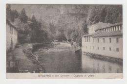 BB241 - ITALIE - BASSANO E Suoi Dintorni  - Laghetto Di Oliero - Tampon A-L-G-P  N776 - Le Chef D'escadron Commandant - Andere Städte