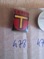 Pas Pin's Mais EPINGLETTE ANNEES 70/80 Origine EUROPE DE L'EST YOUGOSLAVIE : N°478 LABIN - Autres