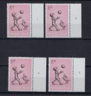 N°1399 (pltn°set) MNH ** POSTFRIS ZONDER SCHARNIER SUPERBE - Plaatnummers