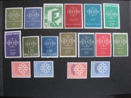 Année Complète Europa 1959. Neufs XX Sauf Les N°632 Et 633 De Suisse: Neufs X. - 1959