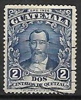 GUATEMALA      -   1929 .  Y&T N° 233 Oblitéré .  UPU - Guatemala