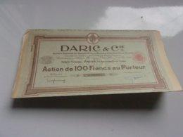 DARIC & Cie  (1929) - Actions & Titres