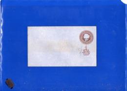 ##(DAN199)-India-Puttialla State- One Anna  Postal Stationery Envelope, Unused - Patiala