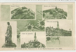 MONTE SACCARELLO (IMPERIA) MONUMENTO AL SS REDENTORE ( VEDUTINE)- FP - Imperia