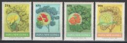 Papouasie-Nouvelle-Guinée - YT 663-666 ** MNH - 1992 - Flore - Arbres Et Fleurs - Papouasie-Nouvelle-Guinée