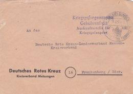 Lettre Prisonniers De Guerre 13.05.1953 Croix Rouge Allemande - [7] Federal Republic