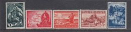 Bulgaria 1941 - Annexion De La Macedonie, YT 390/94, MNH** - 1909-45 Regno