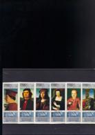 YEMEN MICHEL 883/888** SUR DES TABLEAUX DU MUSEE DE FLORENCE EN NON DENTELE - Yémen