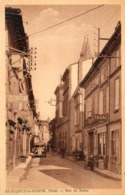 81. CPA. SAINT SULPICE LA POINTE.  Rue De Reims.  1936. - Saint Sulpice
