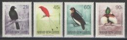 Papouasie-Nouvelle-Guinée - YT 642-645 ** MNH - 1992 - Oiseaux - Birds - Papouasie-Nouvelle-Guinée