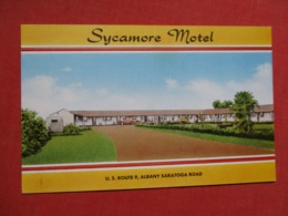 Sycamore Motel  Cohoes  New York      Ref 3617 - NY - New York