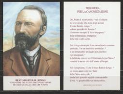 Santino - Beato Bartolo Longo - Fondatore Santuario Di Pompei - Santini