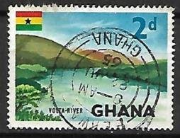 GHANA    -    1965 .  Rivière Volta. .  Oblitéré - Ghana (1957-...)