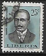 LIBERIA    -    Daniel Edward  Howard. .  Oblitéré - Liberia