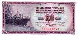 Billet Yougoslavie 1979 - 20 Dinara TBE - Yougoslavie
