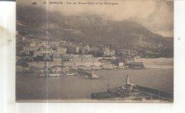 180. Monaco, Vue Sur Monte Carlo Et Les Montagnes - Monaco