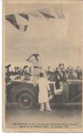 CPA WW2 BRAZAVILLE Congo Capitale De La France Libre -Arrivée Du Général De GAULLE 24 Octobre 1940 (carte Avec Défauts - Guerre 1939-45