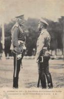 CPA Guerre De 1914 - Le Tsar Nicolas II Et Le Grand-Duc Nicolas, Commandant En Chef De L'Armée Russe Sur Le Front - War 1914-18