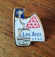 Pin's LES ARCS S. T. A. R.  P23 - Autres
