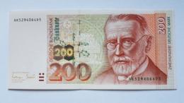 200 DM 1996 Ro 311a, Fast Kassenfrisch, Kein Knick,  About UNC, No Fold!! - 200 Deutsche Mark