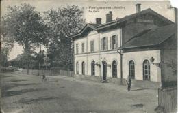Faulquemont (57) - La Gare - Francia