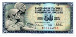 Billet Yougoslavie 1978 - 50 Dinara TBE - Yougoslavie