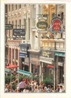 59 - Lille - La Rue Rihour - Façades Et Terrasses - Commerces - Carte Neuve - Voir Scans Recto-Verso - Lille