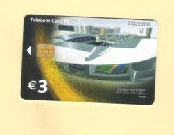 """PHONECARD PORTUGAL SERIE EURO 2004 """"ESTÁDIO DO DRAGÃO PORTO"""" PT438 EX: 3.000 - USED - Portugal"""