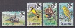 B0420 - LESOTHO Yv N°443+445/47 ** OISEAUX BIRDS - Lesotho (1966-...)