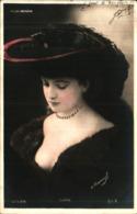 Artiste Femme 1900 - Evran, Folies-bergère Chapeau - Cabarets