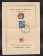 DR Schmuckblatt Hamburg Rennwoche 1941 - Germany