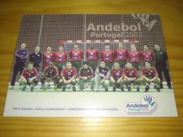 "Postcard Portuguese, Postal Portugal ""Andebol, Portugal 2003"" - Handbal"