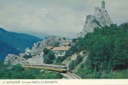 La Rochette (04) Rame RGP (Alpazur) - Eisenbahnen